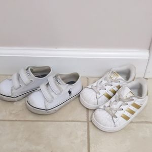 Adidas and Polo size 5 and 6